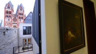 Zimmer mit Ausblick. Bei einem Rundgang für Medienvertreter gab es Einblicke in die einstige Privatwohnung des früheren Bischofs Tebartz-van Elst.