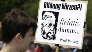 Hessens Hochschulen wollen mehr Geld vom Land
