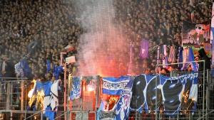 Hochsicherheitsderby in Frankfurt: Appell an Fans