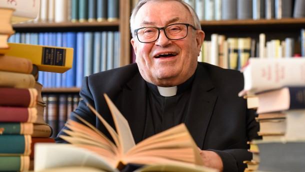Die Bibliothek des Kardinals wird verschenkt