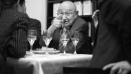 Er deutete, was andere schrieben: Marcel Reich-Ranicki im November 2011 im Stammhaus des S. Fischer-Verlags
