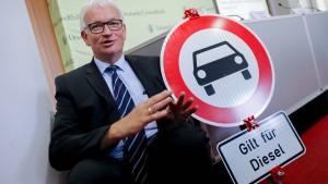Schwarz-Grün gegen Diesel-Fahrverbote