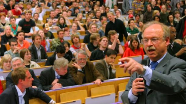 Uni-Präsident Steinberg will keine Privatisierung