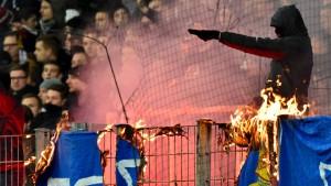 Darmstadts Innenstadt für Eintracht-Fans tabu