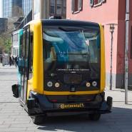 Fährt auch mit Technik aus Frankfurt: Autonomer Bus von Continental