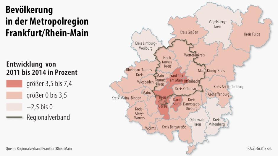 bilderstrecke zu wie sich die metropolregion frankfurt entwickelt bild 2 von 3 faz. Black Bedroom Furniture Sets. Home Design Ideas