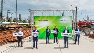 """""""In Frankfurt sehe ich keinen Protest wie bei Stuttgart 21"""""""