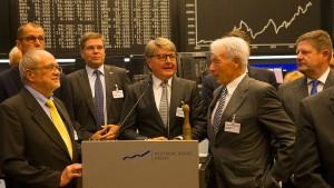 Börse-Chef kann sich mehr als 30 Aktien im Dax vorstellen