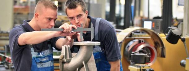 Gefragt: In vielen Betrieben in Hessen fehlen Lehrlinge.