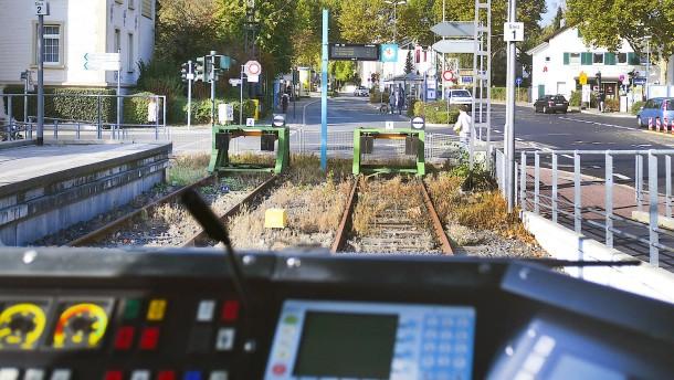 Per U-Bahn nach Bad Homburg