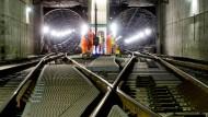 Immer noch nicht die letzte Sperrung: In den Sommerferien wird der Frankfurter S-Bahn-Tunnel gesperrt. Die letzte Sperrung ist für 2018 angesetzt.