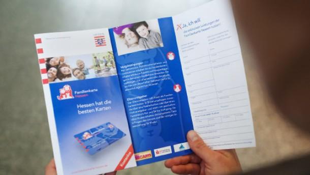Hessen will mit Familienkarte punkten