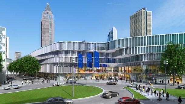 Bau des Frankfurter Skyline Plaza genehmigt