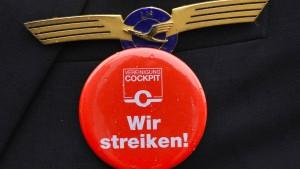 Lufthansa-Piloten wollen am Freitag streiken