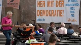 Paulskirchen-Besetzung: Grüne gegen Strafantrag