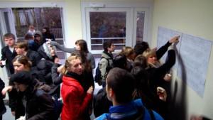 Niemöller-Schule schwer beeindruckt vom Übergangsquartier