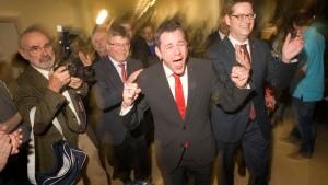 "Wahl in Wiesbaden als ""rot-grünes Signal"""