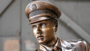 Elvis lebt – in Bronze