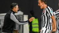 Frankfurter Dreiklang: Oczipka trifft, Kovac jubelt und die Eintracht steht ausgesprochen gut da.