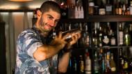 Meistermischer: Görkem Harp in seiner Barschule