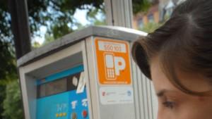 Mit dem Handy die Parkgebühren zahlen