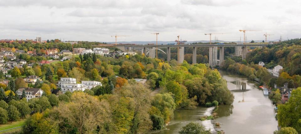 Lahntalbrücke Limburg Schöner Wohnen über Dem Fluss Rhein Main Faz