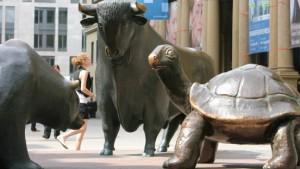Flucht zur Schildkröte