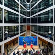 Neuer Chef gesucht: Andrea Nahles nach der Europawahl im Mai in der SPD-Parteizentrale, dem Willy-Brandt-Haus.