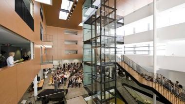 Im Klinikum Darmstadt: Der Neubau der Inneren Medizin ist bereits abgeschlossen.