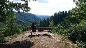 Schroffe Felsen und unberührte Natur