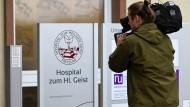Weiter im Blickpunkt: Klinikum in Fritzlar in Nordhessen