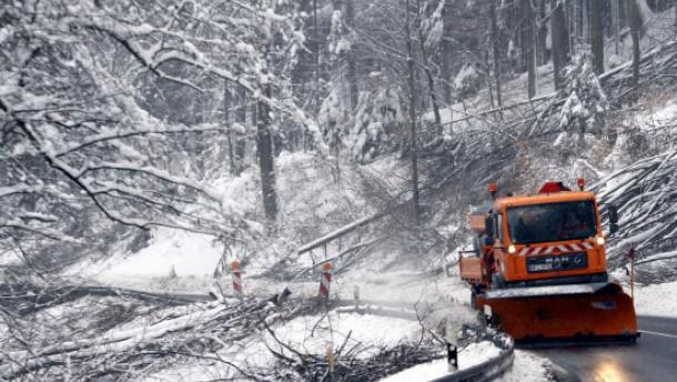 Schließung vieler Schulen wegen Schnees übertrieben?