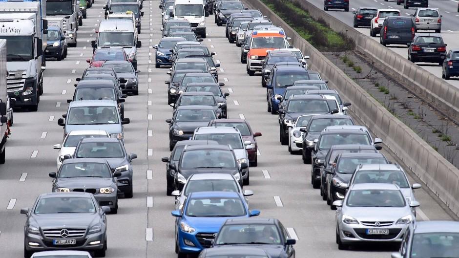 Ohne Corona: So sah der Verkehr oft vor dem Ausbruch des Virus aus.