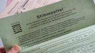 Die Hessen bewiesen: Sie haben sich mit der Landesverfassung durchaus befasst und nutzten bei der Hessenwahl die Einzelabstimmung.