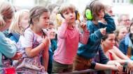Nicht ganz Open Ohr: Das Festival in der Mainzer Zitadelle gilt als familienfreundliche Veranstaltung.