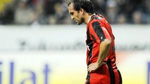 Eintracht-Stürmer Gekas erleidet Muskelfaserriss