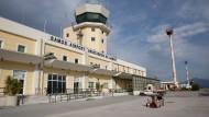 Einer von 14: Flughafen auf Samos