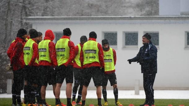 1.Bundesliga, Eintracht Frankfurt Training