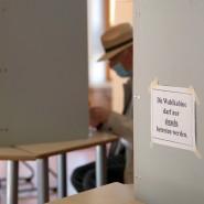 Mehrfachschutz: Die Kommunalwahl in Nordrhein-Westfalen lief schon unter Pandemie-Bedingungen ab.