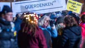 """Strenge Auflagen für """"Querdenker""""-Demonstration"""