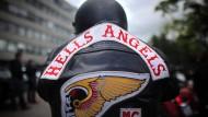 Die Hells Angels feiern eine Party