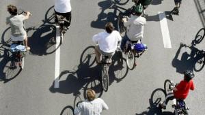Bundesweit erster Schnellweg für Radler