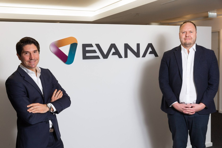 Wachstum organisieren: Die Evana AG-Geschäftsführer Sascha Donner und Peter Moog.