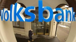 Kleinen Banken bröckeln Zinseinnahmen weg