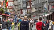 Bis zum 29. Mai wird das Landesfest in Herborn stattfinden: die Herborner Altstadt