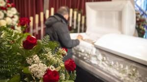 Abschied von Opfern des Massenmords von Hanau