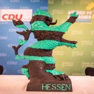 Schwarz-grün: die Landesregierung in Hessen