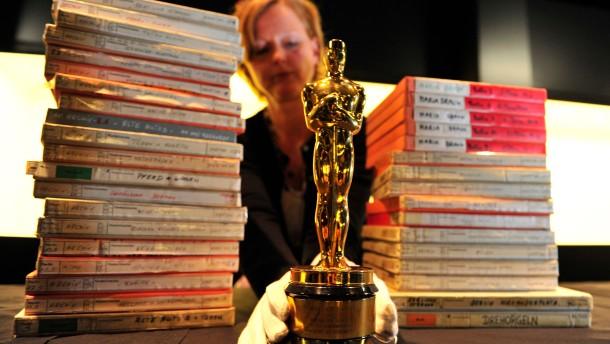 Der erste Oscar steht schon bereit