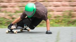 Urform des Skatens