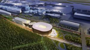 Pläne für Multifunktionsarena am Frankfurter Flughafen